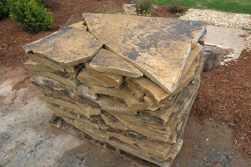 Fort Worth Grass Amp Stone Oklahoma Dark Flagstone