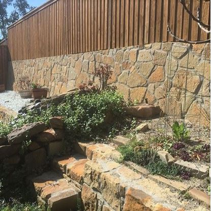 Milsap Chopped Stone - Retaining Wall